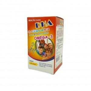 DHA橙味深海咀嚼魚油60粒