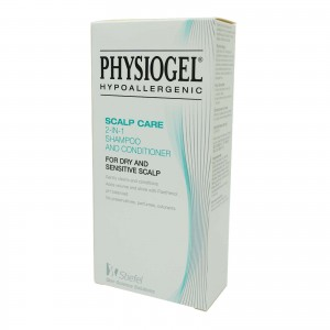 PHYSIOGEL HYPOALLERGENIC-SCALP CARE 2-IN 1 SHAMPOO AND CONDITIONER 250ML