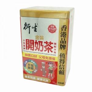衍生金裝小兒雙料開奶茶顆粒沖劑20包